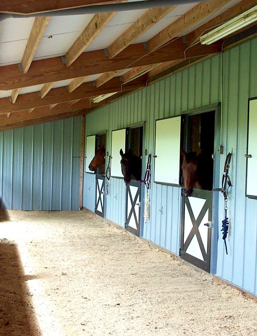 horse barn